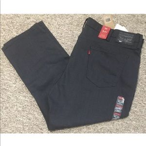 Levi's Gray 541 Athletic Straight Fit Jeans